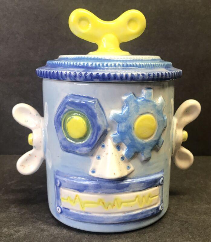 Mayco Ceramic Robot Candy Jar 2013