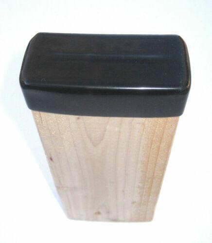 4 PK - 2x4 Wood Post End Cap Leg Cover Floor Protector Lumber Stud Rack Rubber