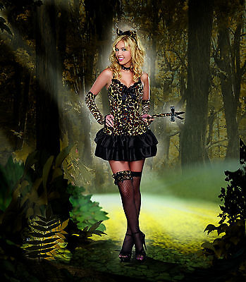 Sexy Dreamgirl Adult Women's Halloween Purr-Fect for You Kitty Cat
