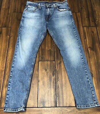 Levis 512 Men's Denim Jeans slim taper Leg 30x30 Stretch