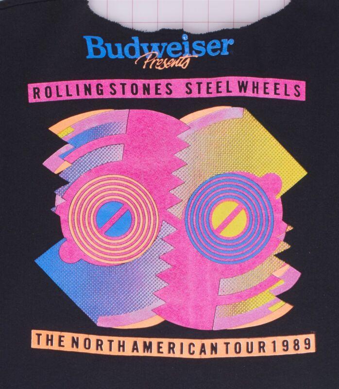 Rolling Stones Steel Wheels No Amer Budweiser Presents Tour