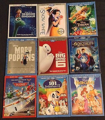 Lot of DISNEY Blu-Ray Slipcover/Sleeves *ONLY*