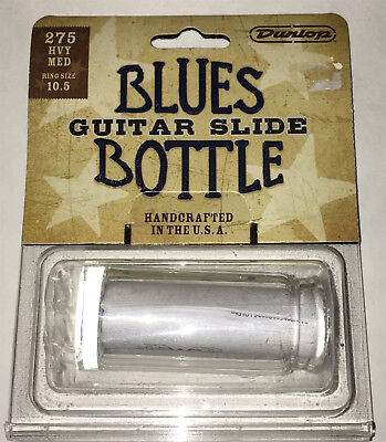 Dunlop 224 Solid Brass Heavy Guitar Slide Large Ring Size 12.5