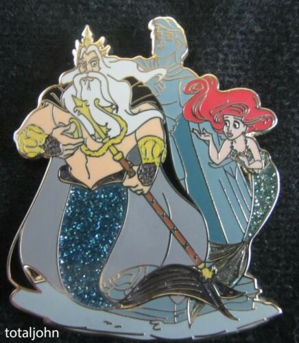 122955 DS - Designer Collection - King Triton and Ariel Pin