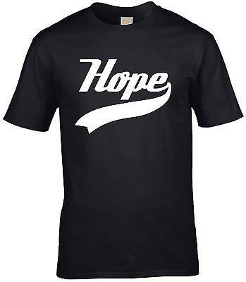 Hope Slogan Quote Christian Religious Jesus Christ Christmas Men's T shirt - Christmas Religious Quotes