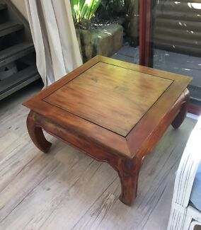 Balinese Timber Coffee Table