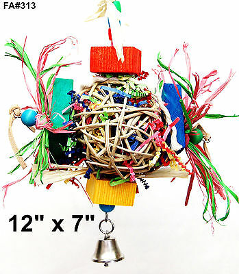 Parrot Bird Toy Globus Smart Cage Toy cockatoo senegal quaker mini macaw