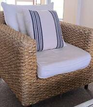 Soft Basket Cane Armchair Dee Why Manly Area Preview