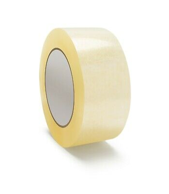 2 X 110 Yards Hotmelt Adhesive Packing Packaging Tape In Different Mil Rolls