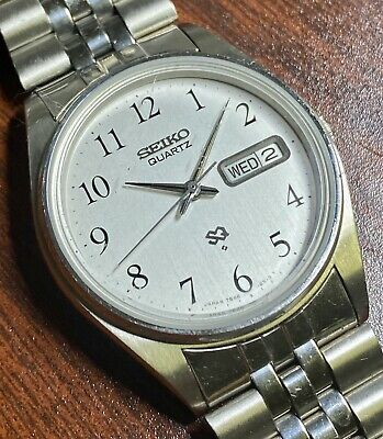 SEIKO Salesman SAMPLE Silver Dial  7546-8399 [A2]