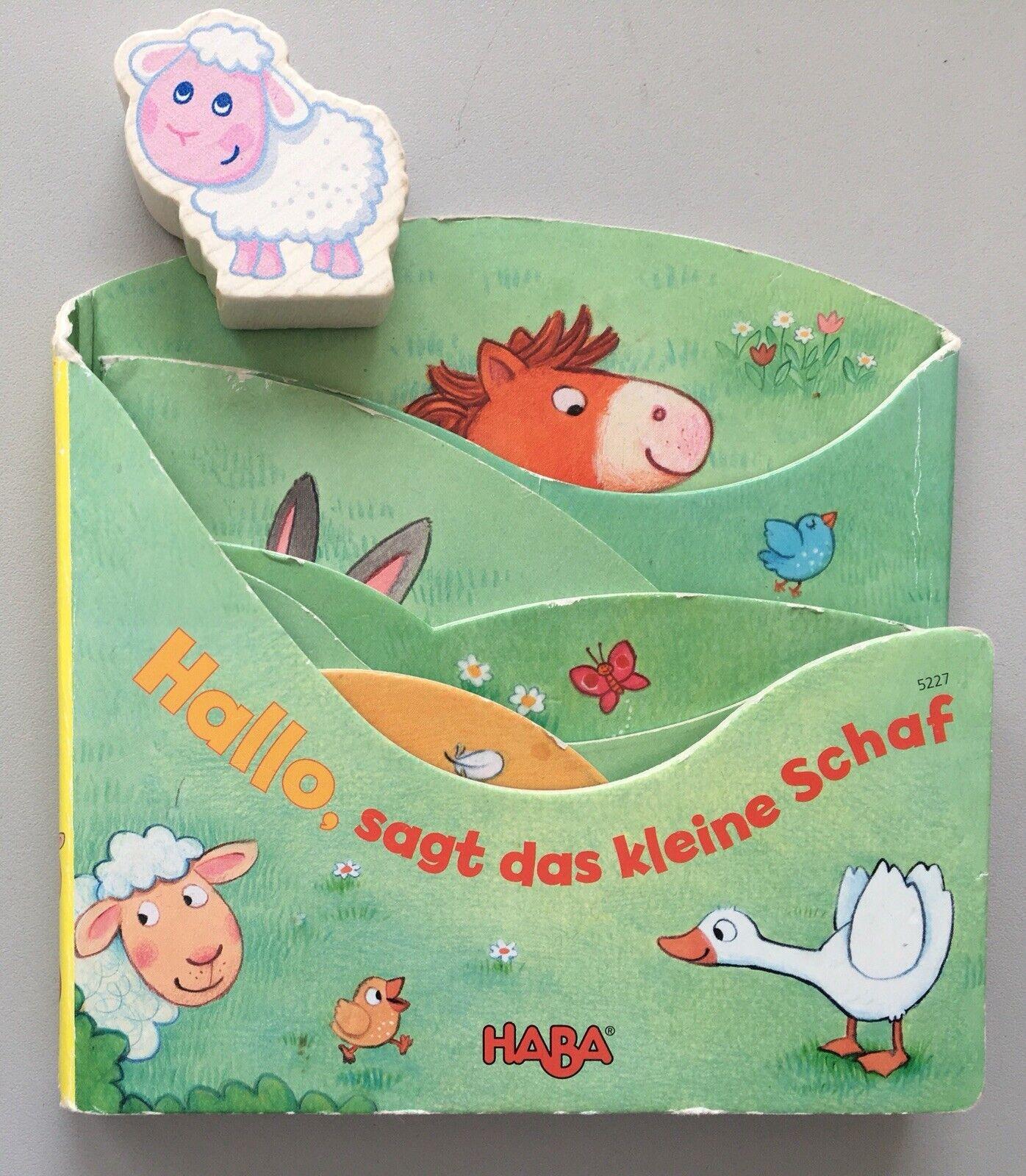 """HABA Mein Entdecker-Leporello """"Hallo, sagt das kleine Schaf"""" Kinderbuch"""