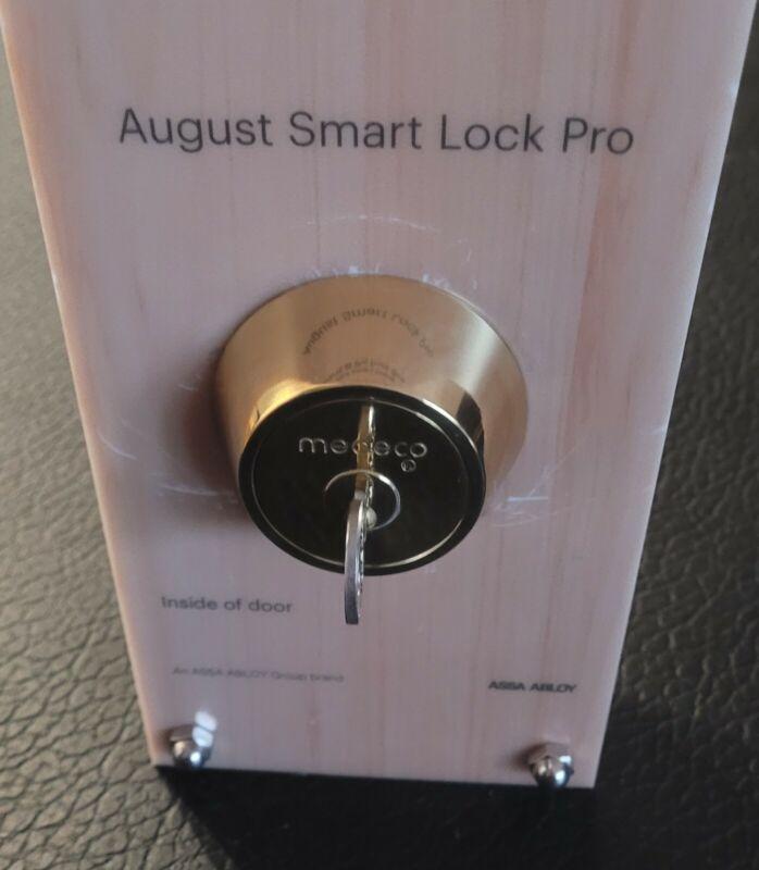 August Smart Lock & Medeco deadbolt Integrator Adapter.  Read details below.