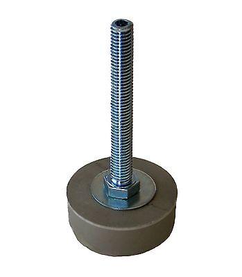 1 Pc Leveling Mountfeetpad Zinc Plated Steel 12-13 X 4 Thread