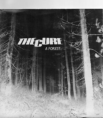 "The CURE, A Forest. ORG 7"" Vinyl, PUNK, GOTH, 45rpm"