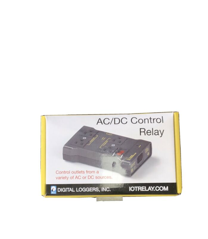 AC/DC Control Relay Digital Loggers