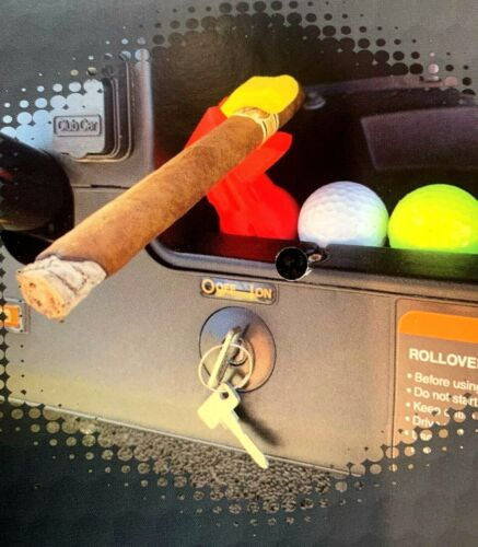 Ugly Birdie, Golf Cart Cigar Holder, cigar holder, golf, cigar,