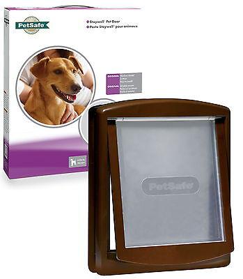 Staywell PetSafe 755 Medium Brown Dog Flap Pet Door Best Selling Brown Dog Door