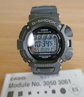 Casio G Shock Mudman Multiband 5 Tough Solar Watch GW-9000A Atomic Vintage