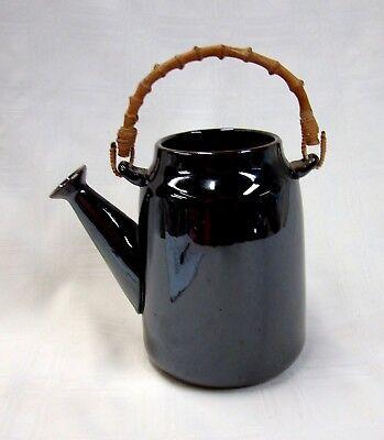 1958 TACKETT ROCKINGHAM Cook/Serve TEAPOT * Early LOS ANGELES Modernist Ceramic