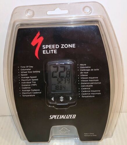 (NEW) Speed Zone Elite Specialized Bike Bicycle Cyclocomputer Cycling Computer