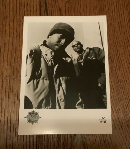 "Gang Starr Guru DJ Premier Rap hip Hop promo Press photo 7x5"" 1994 Chrysalis"