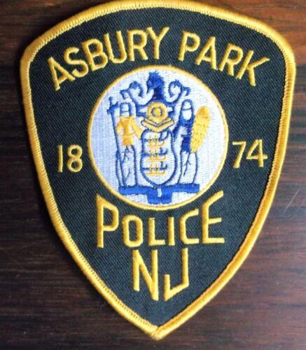 GEMSCO NOS Vintage Patch - THE BOSS - POLICE ASBURY PARK NJ - Original 30+