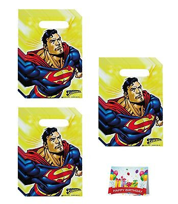 Justice League Birthday Party Favor Treat Bags Bundle Pack of 24