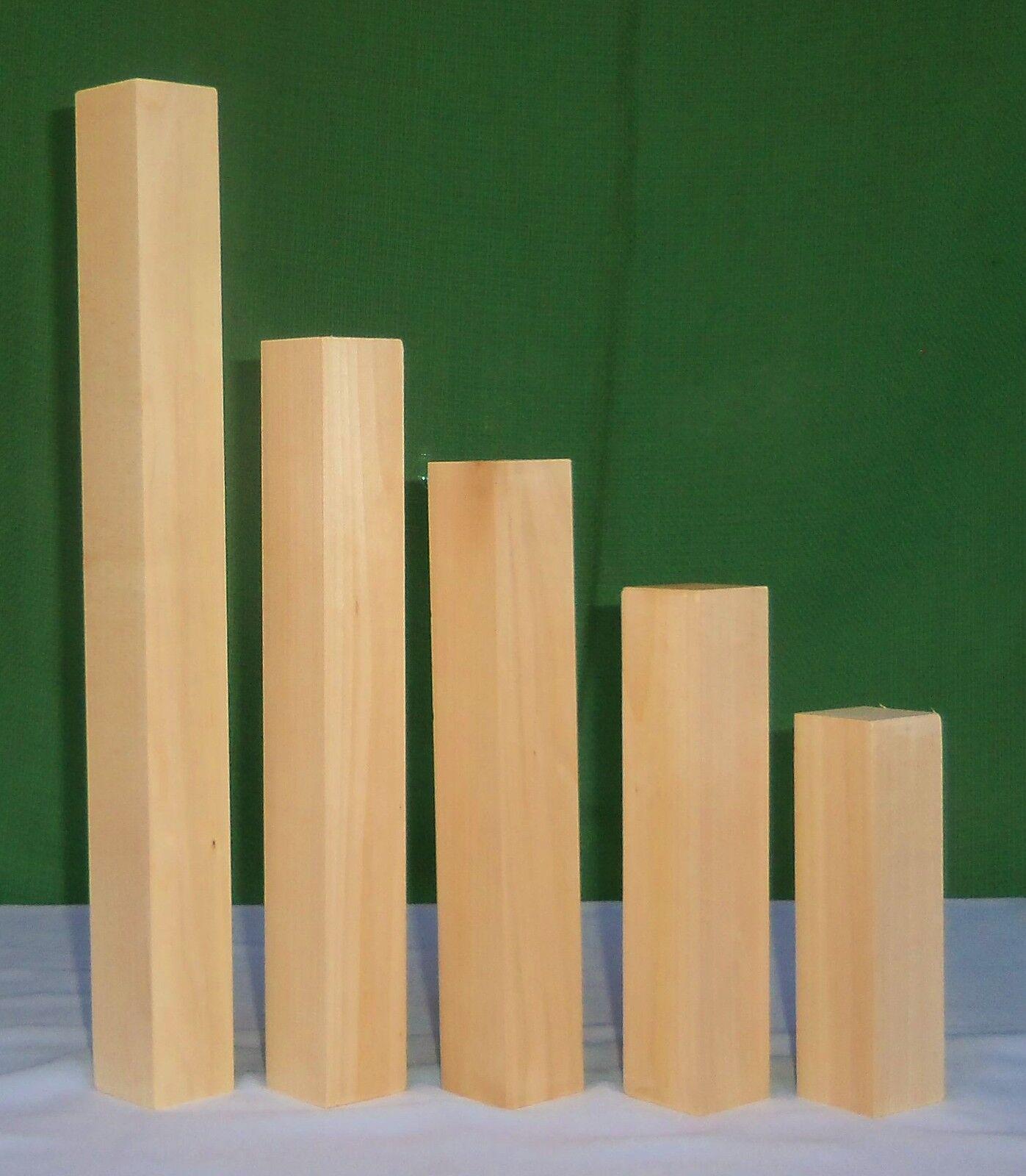 Lindenholz Linde drechseln schnitzen Schnitzholz Kantel große Auswahl 40mm