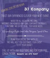 DJ Services - All Occasions & Ethnicities