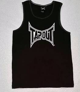 Mens size med TAPOUT singlet Blue Haven Wyong Area Preview