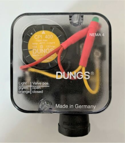 Dungs Pressure SwitchCPI 400 (15psi max)