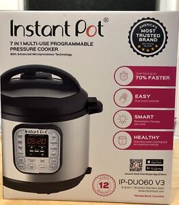 Brand new in box Instant pot Duo 6qt