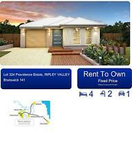 Rent to Own. New 4 bed, 2 bath, SLUG home in South Ripley, Qld Ripley Ipswich City Preview