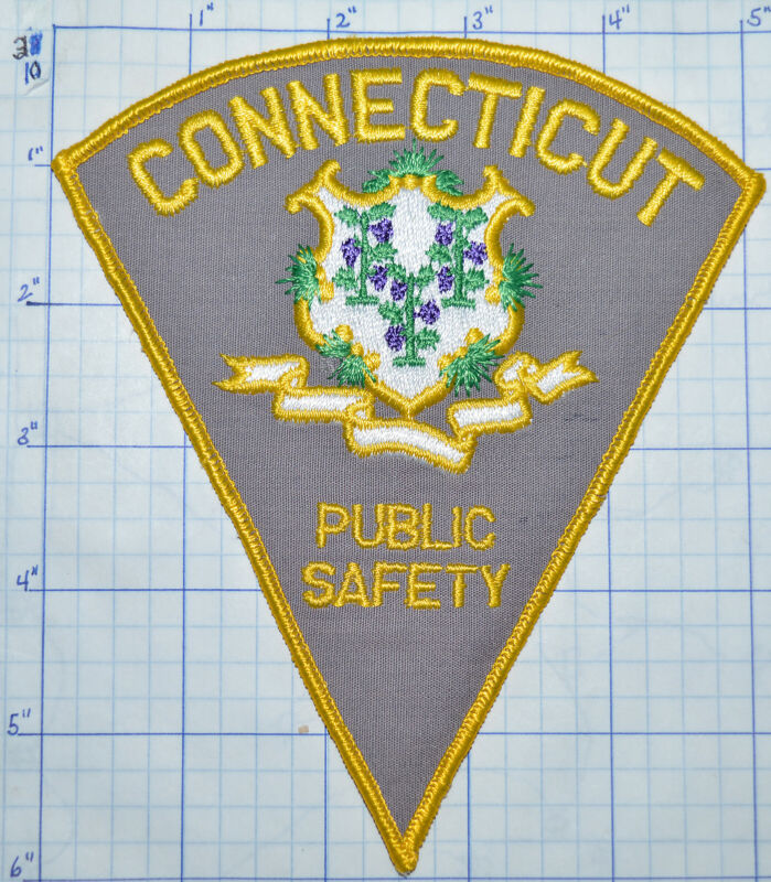 CONNECTICUT PUBLIC SAFETY STATE POLICE PATCH