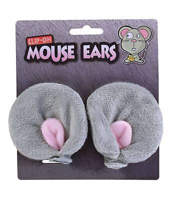 Grau Clip auf Maus - Graue Maus Ohren