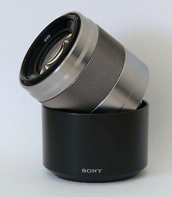 Sony SEL 50 mm F/1.8 E OSS for Sony APS-C/NEX - Silver