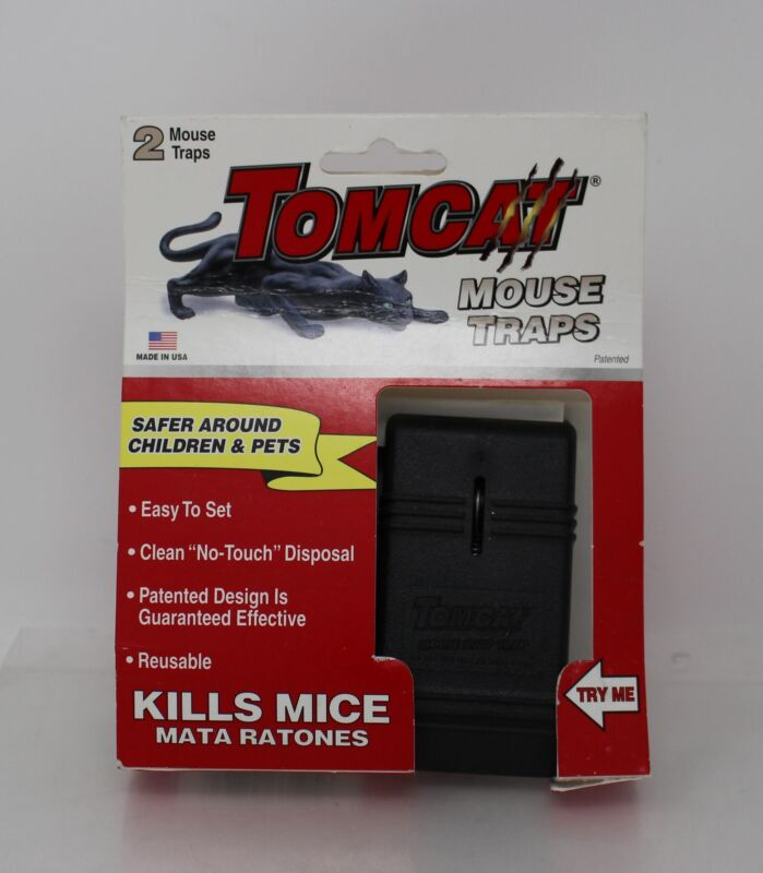 Tomcat Snap Traps 2-Pack (Mouse Trap)
