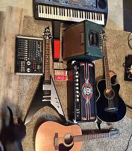 Guitars, amps, pedals etc.