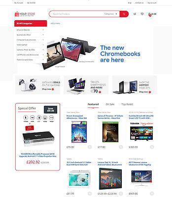 Electronics Store - Amazon Affiliate Ecommerce Website Free Hosting