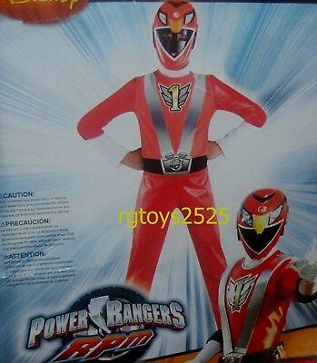 Power Rangers RPM Red Ranger Costume Size 7-8 New Medium M Med - Power Rangers Rpm Costume