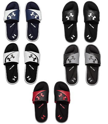 Under Armour Mens Ignite VI Slide Athletic Sandals Flip Flop -Pick Color & Sizes