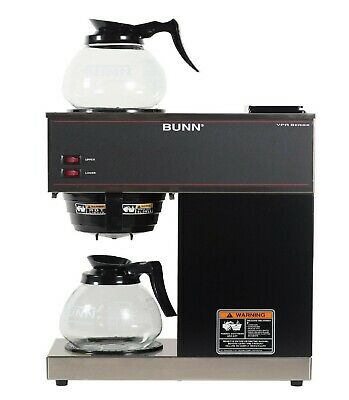 Bunn VPR 12 Cup Commercial Coffee Maker Pour Over Brewer Warmer Machine -