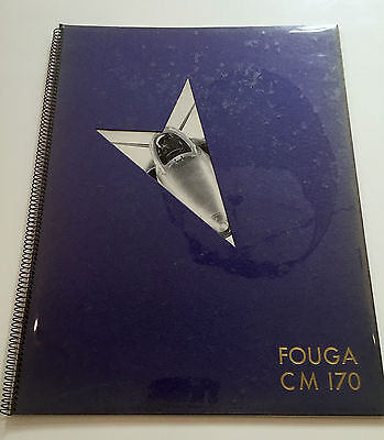 FOUGA CM 170 MANUFACTURERS SALES BROCHURE ADVANCED FIGHTER & TRAINER