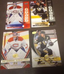 Cartes hockey inserts Upper Deck 08-09 Price Crosby Ovechkin