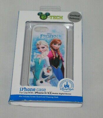 Disney D-Tech Frozen Summer Fun iPhone 5/5S case Disney Parks Ana Elsa NIP New