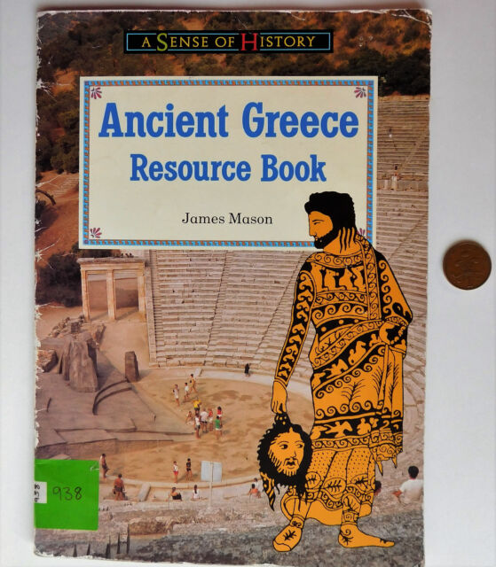 Ancient Greece Childrens history resource book Greeks primary school 1990s