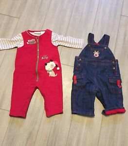 Boy's 3-6 month Christmas Outfits