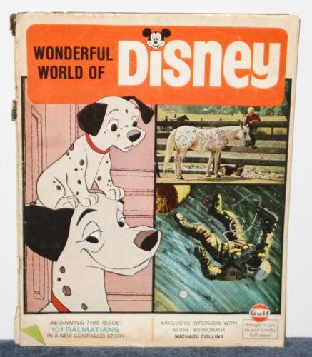 RARE! WONDERFUL WORLD OF DISNEY MAGAZINE 1969 Vol 1 No 3 SPACE CENTER GULF OIL