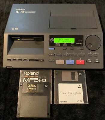 ROLAND MT 200 Digital Sound Module 5 Track Sequencer