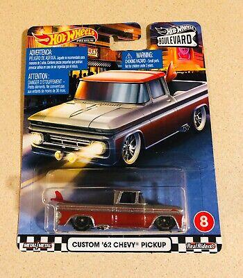 2020 Hot Wheels Custom '62 Chevy Pickup Boulevard  Real Riders